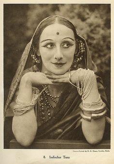 "Anna Pavlova ""Indian Dance"""