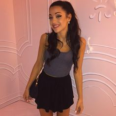 Gabi & Ariana Grande look alike actually, and have a lot of facial similarities