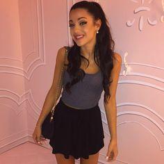 Gabi & Ariana Grande look alike actually, and have a lot of facial similarities
