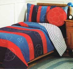 Nathan Single to King Single Bed Coverlet Set Greenland - Shop
