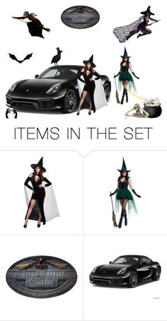 """""""Witch Parking Only!"""" by browncoat4ever ❤ liked on Polyvore featuring art"""