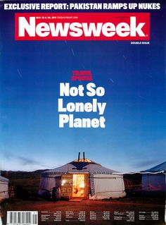 Newsweek Cover - May 16 2011 - Andrew Rowat