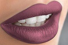 Liquid Matte Lipstick Long Lasting Lip Gloss by Mynena - Vicky Shade Black Liquid Lipstick, Lipstick Art, Lipstick Shades, Lip Art, Lipstick Colors, Lip Colors, Lipsticks, Metallic Lipstick, New Year's Makeup