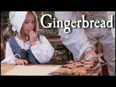 Baking Simple Gingerbread - 18th Century Cooking - YouTube