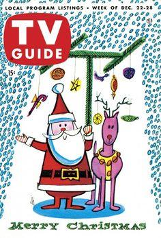 TV Guide: December 22, 1956 - Merry Christmas