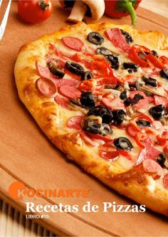 Libro de recetas de pizzas