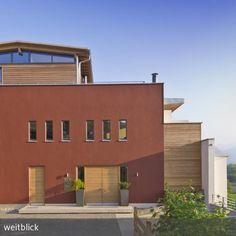 Ideal Panoramageschossbau an Felsenhanglage