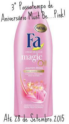Amostras e Passatempos: Passatempo FA Magic Oil by Must Be Pink
