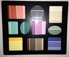 DIY Dry Erase Frame using Paint Cards by Patricia Sosa