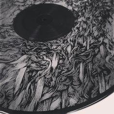 screen print onto record vinyl - Google Search