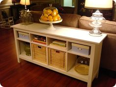 Like the console table