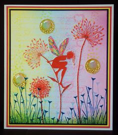 Pauline's Crafty Haven: Lavinia Stamps and Distress Inks, with Stickles.