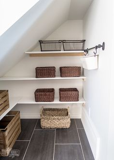 How to Build an Under Stairs Pantry with a DIY Sliding Barn Door Understairs Ide Understairs Ideas Barn Build DIY Door Ide pantry Sliding stairs Understairs Under Stairs Cupboard Storage, Closet Under Stairs, Staircase Storage, Basement Stairs, Under Stairs Pantry Ideas, Stairs Kitchen, Basement Ceilings, Basement Ideas, Kitchen Pantry Design