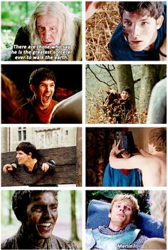 And Arthur couldn't understand. Because that wasn't the Merlin he knew. That wasn't the bumbling, clumsy, stubborn, stupid Merlin he knew and loved. Merlin Funny, Merlin Memes, Merlin Quotes, Sherlock Quotes, Merlin And Arthur, King Arthur, Gwaine Merlin, Merlin Cast, James Arthur