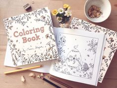 Livre de coloriage  Animal inspiré beau livre par NinaStajner