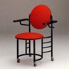 Johnson Wax 2 Chair by Frank Lloyd Wright