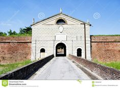 Photo about Hystorical city of Sabbioneta - Italy - Main wall gate known as Imperial gate. Image of gonzaga, building, outdoor - 109082287