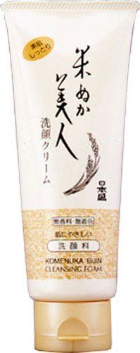 Komenuka Bijin NSK AllNatural Facial Cleansing Foam with Rice Bran  100g * You can find more details by visiting the image link.