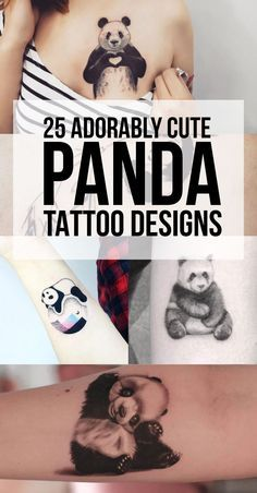 Panda Tattoo Designs & Ideas