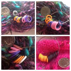 Rubber Knitting STITCH MARKERS. Variety of by MagpieLaneCrafts, £5.00
