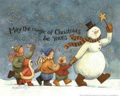 Magic of Christmas Day - Free Christmas Song Lyrics Christmas Card Images, Christmas Scenes, Christmas Pictures, Christmas Snowman, Winter Christmas, Christmas Holidays, Christmas Crafts, Christmas Decoupage, Christmas Graphics
