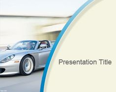 Porsche PowerPoint template is a free Porsche image for PowerPoint that you can download to make awesome car PowerPoint presentations