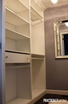 Trendy master closet built ins walk in ikea pax Ikea Wardrobe Hack, Ikea Pax Hack, Ikea Closet Hack, Ikea Closet Organizer, Closet Hacks, Closet Ideas, Ikea Hacks, Pax Wardrobe, Closet Organization