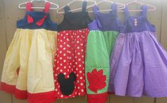 Every little girl loves to play dress up, and with these cute dresses now they can dress up for everyday. With these dresses your daughter can