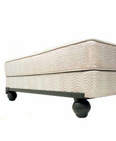 Knickerbocker Eventide Ultra Premium 7-Leg Bed Frame with Multidirectional Casters - mattresses - Macys
