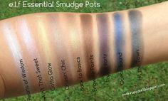 e.l.f Essential Smudge Pots