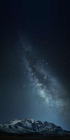 iPhone and Android Wallpapers: Milky Way Mountain Wallpaper for iPhone and Android Night Sky Wallpaper, Wallpaper Space, Dark Wallpaper, Trendy Wallpaper, Galaxy Wallpaper, Nature Wallpaper, Mobile Wallpaper, Wallpaper Backgrounds, Iphone Wallpaper