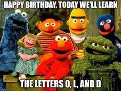 Birthday Memes For Him, Funny Happy Birthday Meme, Happy Birthday For Him, Happy Birthday Quotes, Happy Birthday Greetings, Funny Birthday Cards, Card Birthday, Birthday Ideas, Humor Birthday