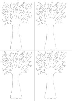 Parts of tree 3 Year Old Activities, Seasons Activities, Preschool Art Activities, Preschool Classroom, Classroom Decor, Animal Crafts For Kids, Art For Kids, Toddler Chart, Four Seasons Art