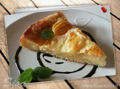 Jablkový koláč s pudingom. | Hrnčekové recepty