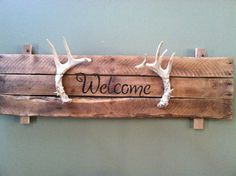 Made with antlers my husband found.  I'm not allowed to use the antlers from his deer hunts.  lol