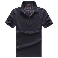 Louis Vuitton LV polos t-shirts, short sleeve 100% cotton tops, brand shop #LNVTSH-086