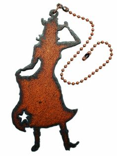 #NEW #Cowgirl #Western Decor Rustic Metal ceiling #Fan #Pull Light Pull