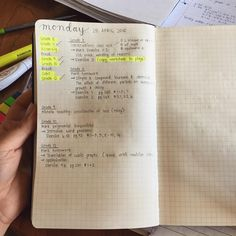 How I plan my lessons - all in pencil in case I need to make a last-minute change ☺️
