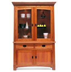 Arts & Crafts China Cabinet furniture complements many decorating styles and works well in every room of the house. We finish our Arts and Crafts style bar stool with artisan-crafted hardware, hand forged or cast in solid metal, that is engineered for ease of use while evoking the arts and crafts legacy.
