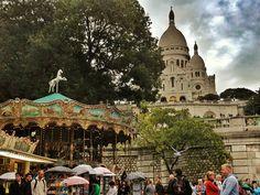 Montmarte in Paris. So magical!