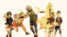 Naruto. Team kakashi. Team minato.