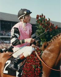 At the wire Cauthen and Affirmed bested their glorious rival by a mere four inches, and Cauthen became the youngest jockey ever to win the Triple Crown. To the present day, they are the last to win the most elusive achievement in the sport.