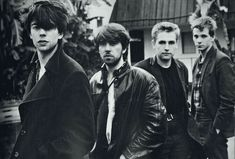 Echo and the Bunnymen Early Band Photo New Wave, New Retro Wave, 80s Music, Rock Music, Punk Rock, Blue Soul, Peel Sessions, Echo And The Bunnymen, Blues