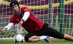 Czech Republic goalkeeper Petr Cech