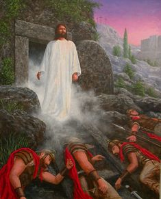 Picture God and Jesus Christ Pictures Of Jesus Christ, Religious Pictures, Bible Pictures, Christian Artwork, Christian Images, Jesus Is Risen, Jesus Is Lord, Image Jesus, Crucifixion Of Jesus