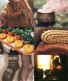 "chamberofaesthetics: "" Hufflepuff in Autumn Gryffindor * Slytherin """