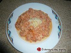 Καγιανάς παραδοσιακός Greek Recipes, Dessert Recipes, Desserts, Macaroni And Cheese, Sweet Home, Pork, Rice, Sweets, Meat