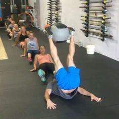 "WOD ON THE ROAD on Instagram: ""Hey coaches, here's a great warm-up/stretch from @crossfitdelirium! Let's see who can do this!! #crossfit #warmup #wod #crossfitcommunity…"""