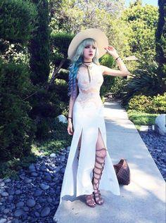 Kina Shen - the hair. the dress