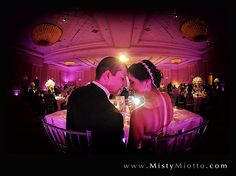 Disney Grand Floridian wedding with LED Wall Lighting in purple by Soundwave Entertainment, djsoundwave.net...photo by Misty Miotto